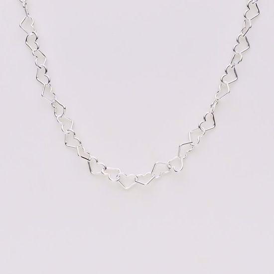 8855-sølv-forgyldt-hjerte-ankelkæde