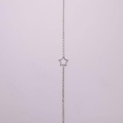 8913/27-sølv-ankelkæde-med-stjerne