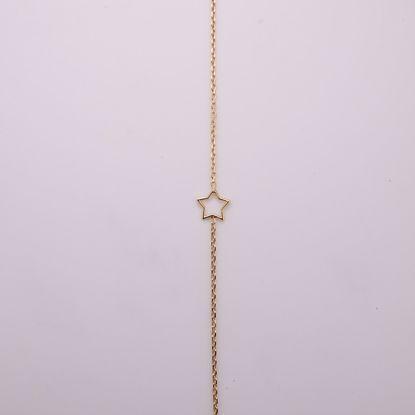 8913/27/f-sølv-forgyldt-ankelkæde-med-stjerne