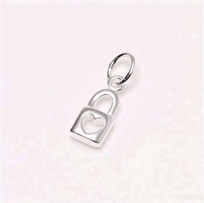 3887-sølv-hængelås-charm-vedhæng