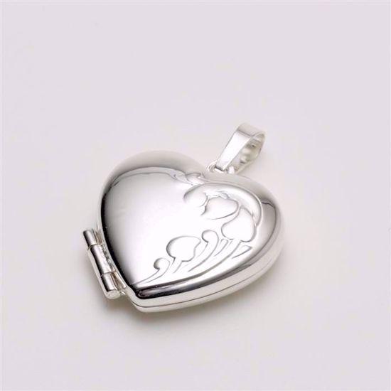 3972-sølv-hjerte-medaljon
