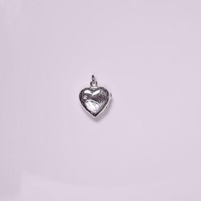 30075-sølv-hjerte-medaljon
