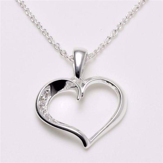 1454/3-sølv-hjerte-med-zirkonia-halskæde-vedhæng