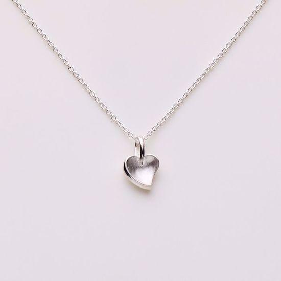 1519/3-sølv-hjerte-halskæde-vedhæng