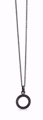 1704/3/b-sort-sølv-vedhæng-cirkel