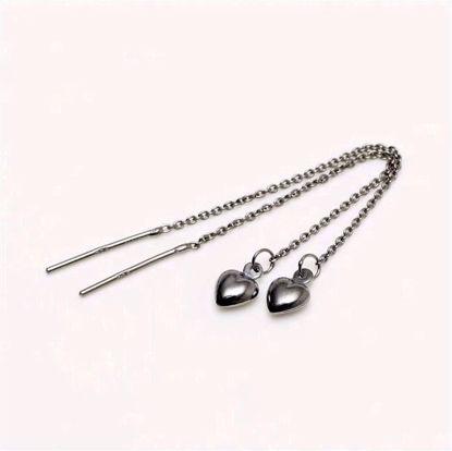 11096b-sølv-sort-rhodineret-disco-ørehængere-med-hjerte