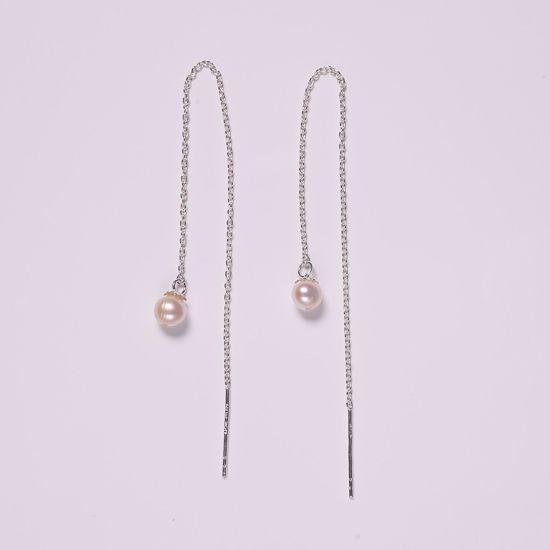 11182-sølv-disco-ørehængere-med-ferskvands-perle