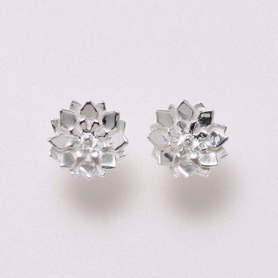 11145-sølv-ørestikker-øreringe-blomst