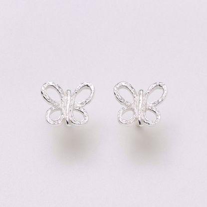 11154-sølv-ørestik-øreringe-sommerfugl
