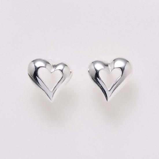 11155-sølv-ørestik-øreringe-hjerte