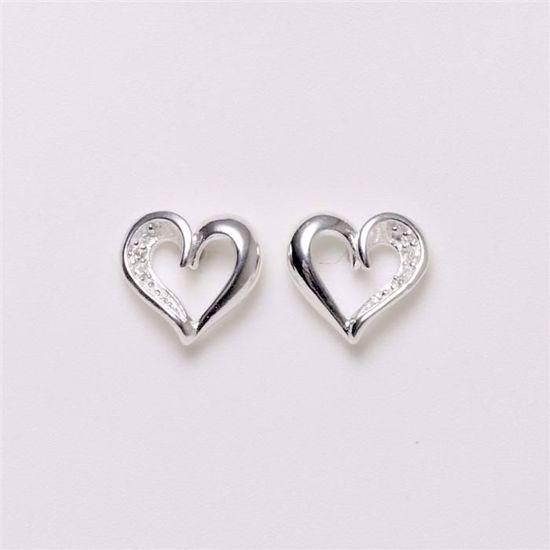1454/1-sølv-hjerte-ørestikker-øreringe-med-zirkonia