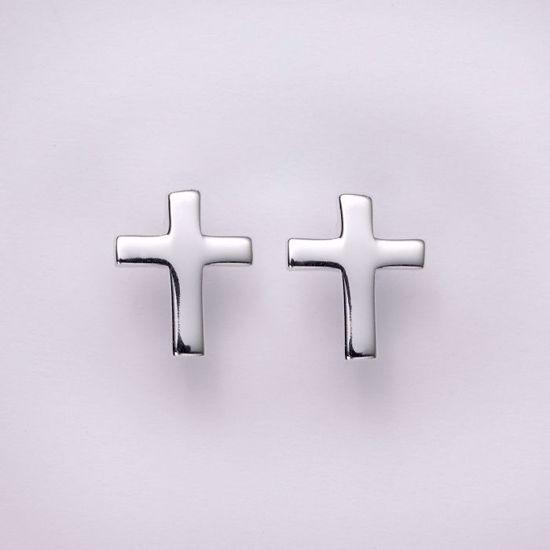 11198-sølv-kors-øreringe-ørestikker