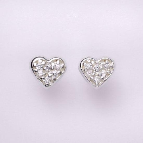 11201-sølv-hjerte-med-zirkonia-ørestikker-øreringe