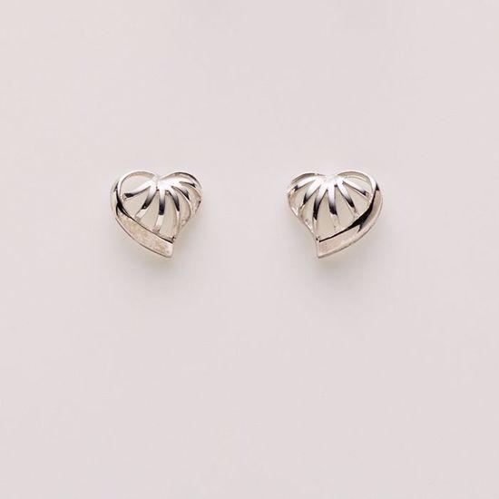 1567/1-sølv-hjerte-ørering-ørestik