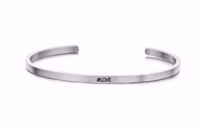 8km-b00160-stål-key-moments-armring-love