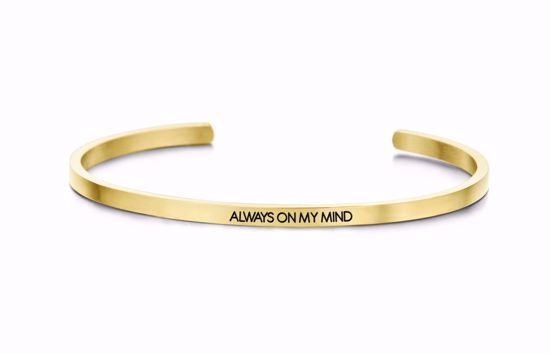 8km-b00065-key-moments-stål-guld-armring-always-on-my-mind