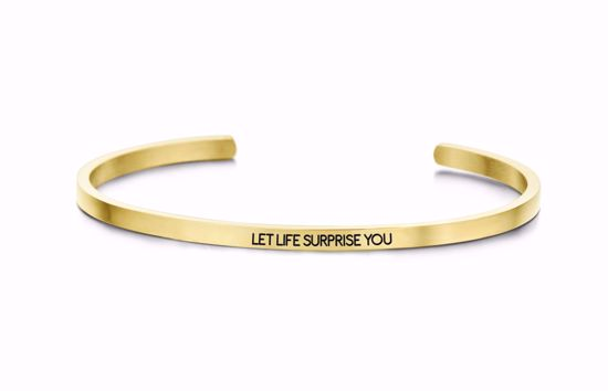 8km-b00086-key-moments-stål-guld-armring-let-lift-surprise-you