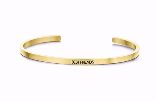 8km-b00080-key-moments-stål-guld-armring-best-friends