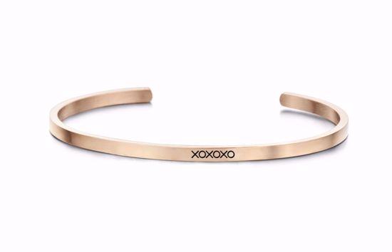 8km-b00144-key-moments-stål-armring-xoxoxo