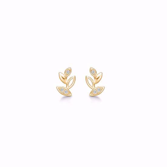 8317/5/08-guld-øreringe-ørestikker-blade-med-zirkonia