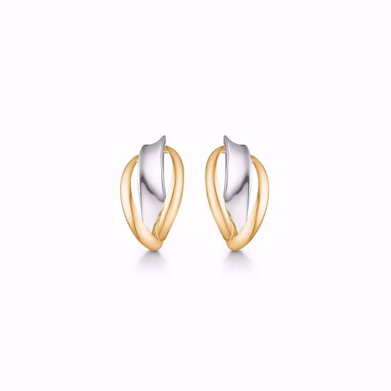 5554/08-guld-ørestikker-øreringe-2-farvet