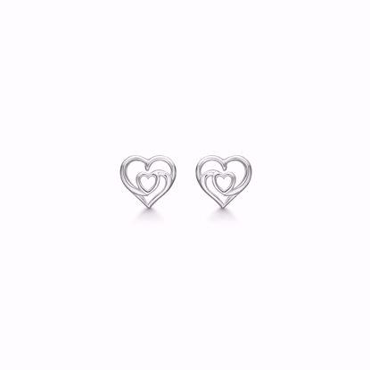 11285-sølv-hjerte-øreringe-ørestikker