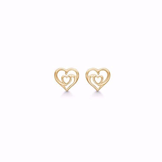 11285-f-forgyldt-sølv-hjerte-øreringe-ørestikker