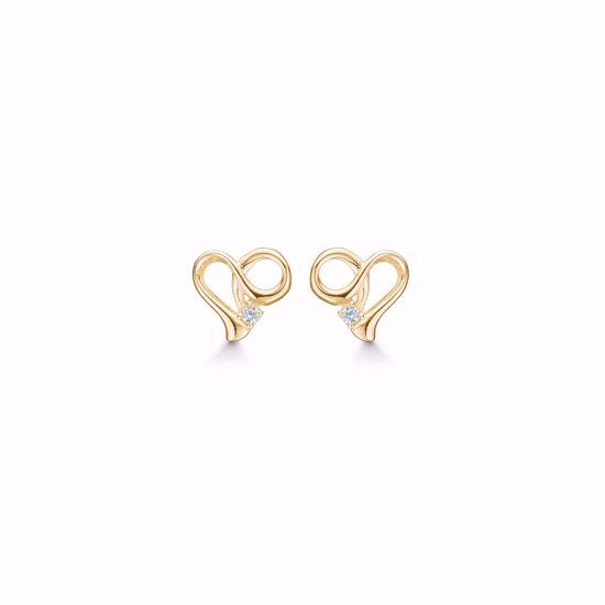 11286-f-forgydt-sølv-hjerte-med-zirkonia-ørestikker-øreringe