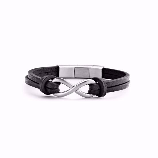 frank1967-infinity-7fb-0298-herre-armbånd-læder-sort
