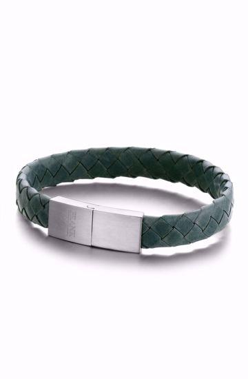 frank1967-7fb-0320-herre-armbånd-læder-grøn
