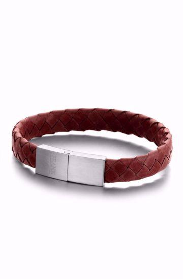 frank1967-7fb-0321-herre-armbånd-læder-rød