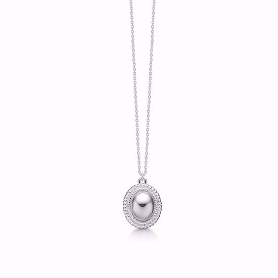 Sølv-vedhæng-halskæde-roset-1902/3