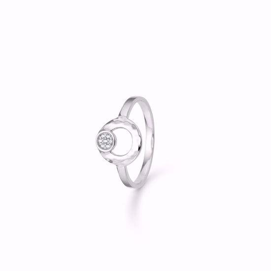 sølv-ring-hamret-cirkel-med-zirkonia-1925/2