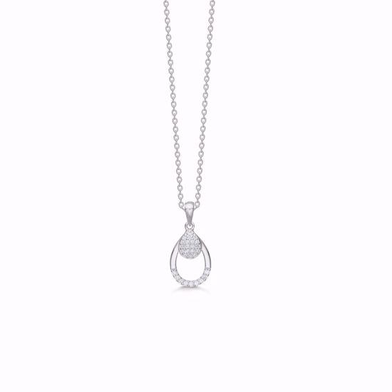 sølv-vedhæng-halskæde-dråbe-med-zirkonia-1926/3