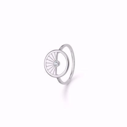sølv-ring-cirkel-med-zirkonia-1927/2