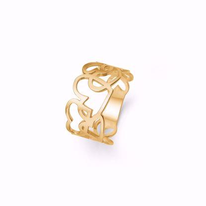 6379/14-guld-ring-14-karat-med-udskåret-hjerter