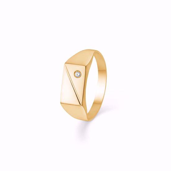 herre-guld-ring-med-zirkonia-plade-6919/08