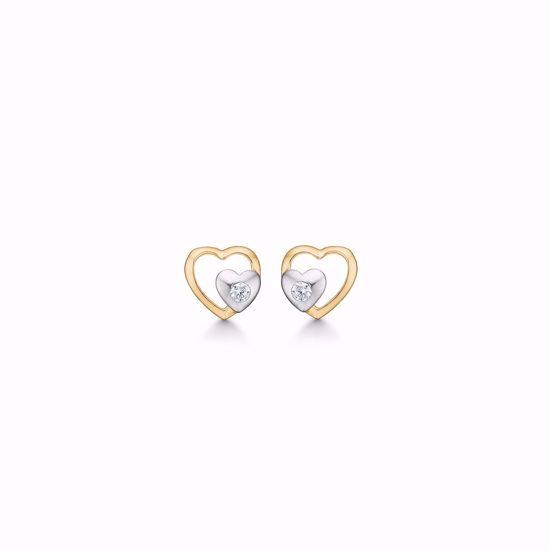 guld-dobbelt-hjerte-øreringe-ørestikker-med-zirkonia-8327/5/08