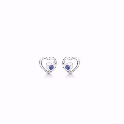 hvidguld-dobbelt-hjerte-ørestikker-øreringe-med-blå-safir-8329/5/08