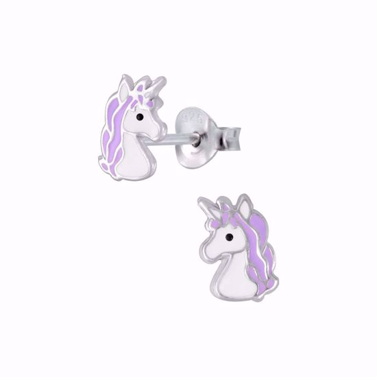 børne-ørestikker-øreringe-unicorn-enhjørning-11309