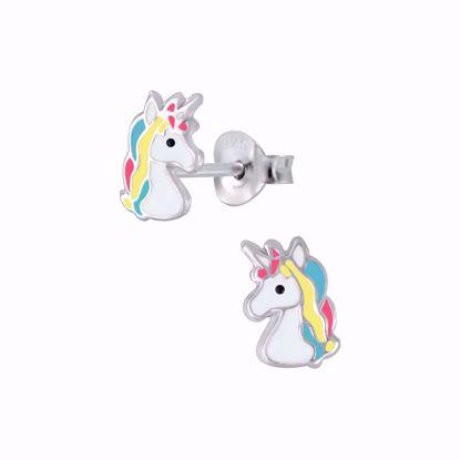 børne-ørestikker-øreringe-unicorn-enhjørning-11308
