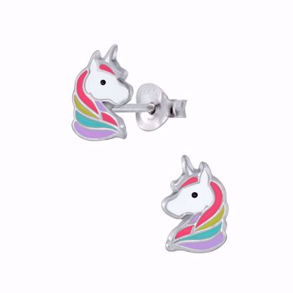 børne-ørestikker-øreringe-unicorn-enhjørning-11307