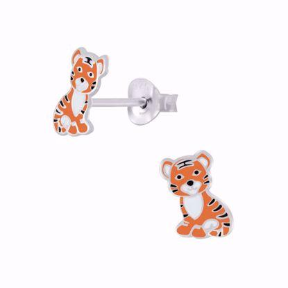 børne-ørestikker-øreringe-tiger-11306