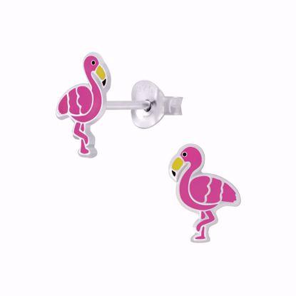 børne-ørestikker-øreringe-flamingo-11305