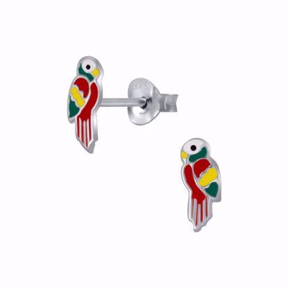børne-ørestikker-øreringe-papegøje-11304