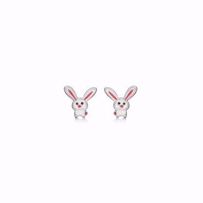 sølv-børne-ørestik-øreringe-kanin-med-lange-øre-1898/1