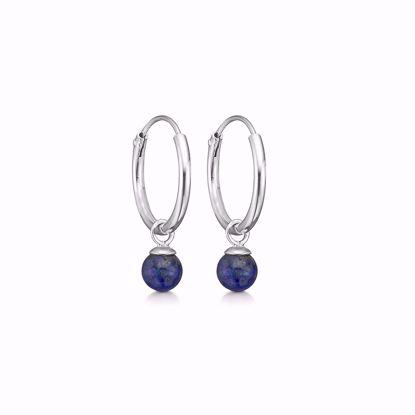sølv-creol-hoops-loops-med-blå-lapis-11294