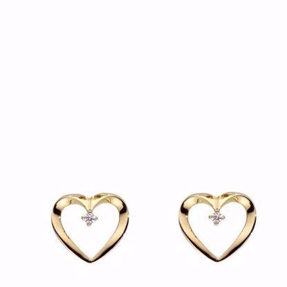 guld-hjerte-øreringe-ørestikker-med-diamant-brillant-5544/14