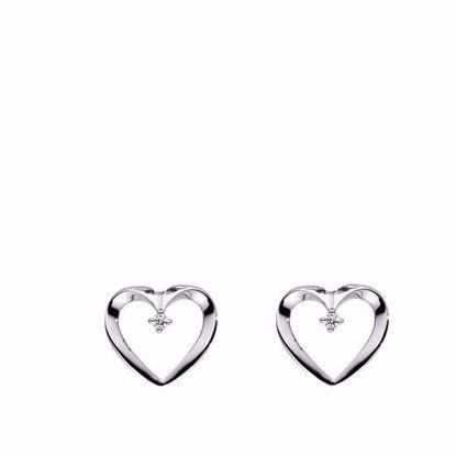 hvidguldguld-hjerte-øreringe-ørestikker-med-diamant-brillant-5544/14HV
