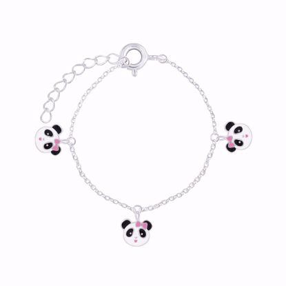 sølv-til-børn-børne-armbånd-med-panda-15cm-8933